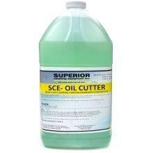Oil Cutter Chemical - 1 Gallon Bottle, Greenish Liquid
