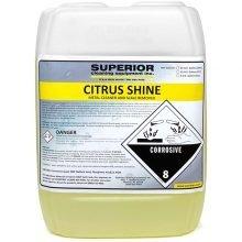 SCE Citrus Shine Chemical, 5 Gallon Container