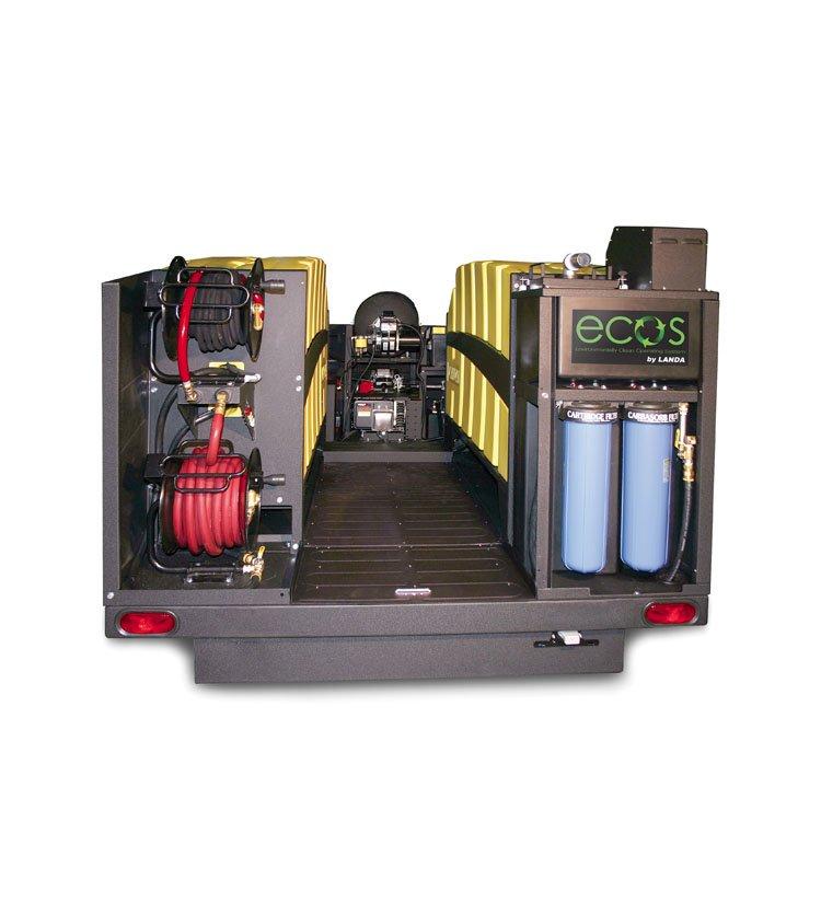 Landa Ecos 7000 Hot Water Gasoline Mobile Wash