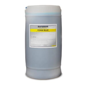 Automatic car wash chemical - foam blue, red, gold