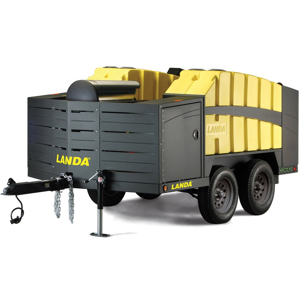 Landa ECOS Mobile Wash & Reclaim - Pressure Washer Trailers on
