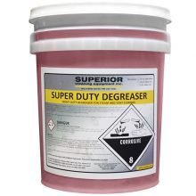 SCE 219 SD - Super Duty Degreaser Chemical