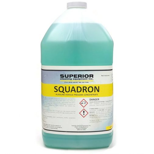 SCE Squadron, Cleaning Green Chemical in 1 Gallon Bottle