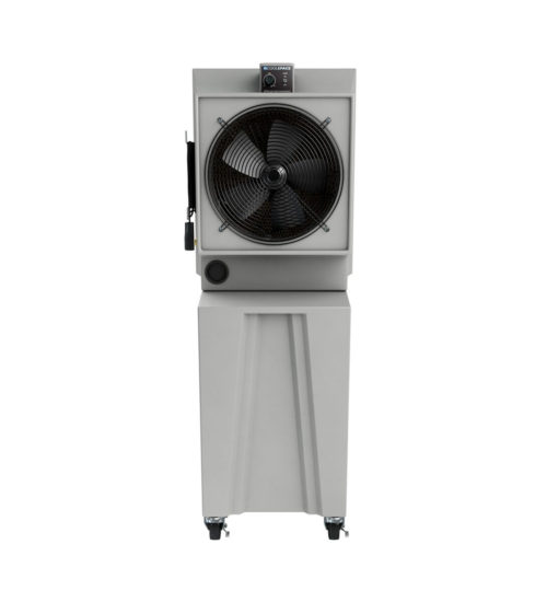 Cool-Space GLACIER Tall Base Cooler fan view