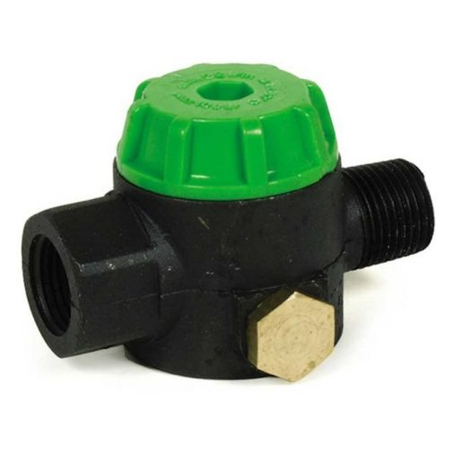"""Green Cap In-Line Filter, 1/2"""" FPT x 1/2"""" MPT (8.709-961.0)"""