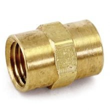 Hex Coupling, Brass