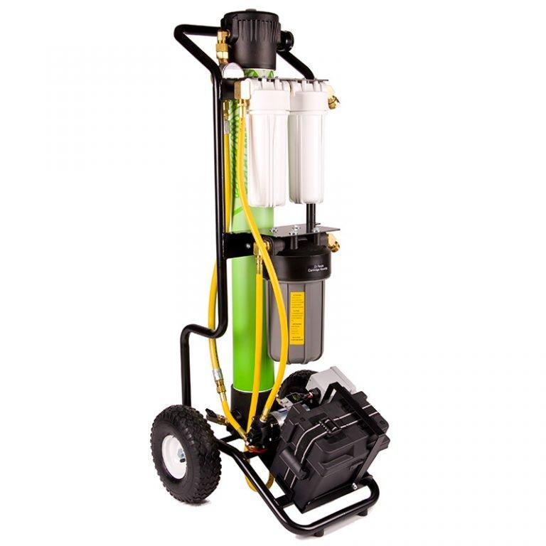 IPC Eagle Hydro Cart, Battery Pump Module Model