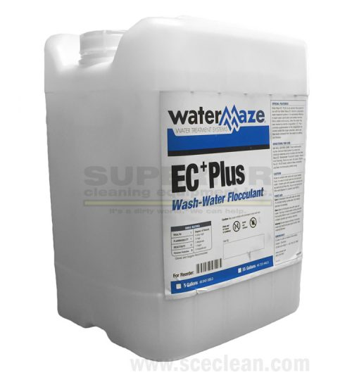Water Maze EC Plus wash water flocculant