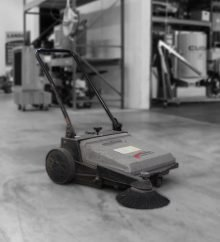 Used Eagle Power 510m Manual Sweeper Grey