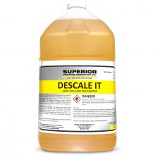 Descale It, 1 Gallon Chemical, Removes lime, iron and scale