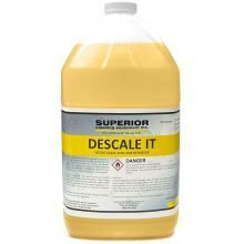 SCE Descale It - Light Orange / Yellow Chemical for Removal of Lime and Scale