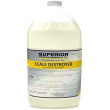 Scale Destroyer Chemical - Light Color, 1 Gallon Bottle, Removes Scale and Concrete