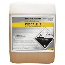 Descale It, Scale and Lime Remover Soap/Chemical/Detergent for Pressure Washers