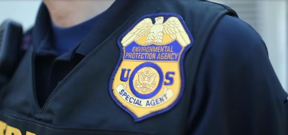 EPA investigators badge