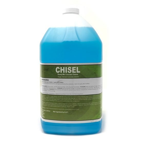Chisel - Concrete remover chemical that is organic based