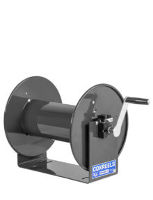 Coxreels 100 Series, Model 112-3-100, Black Hose Reel