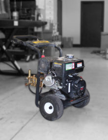 used landa PD4 pressure washer