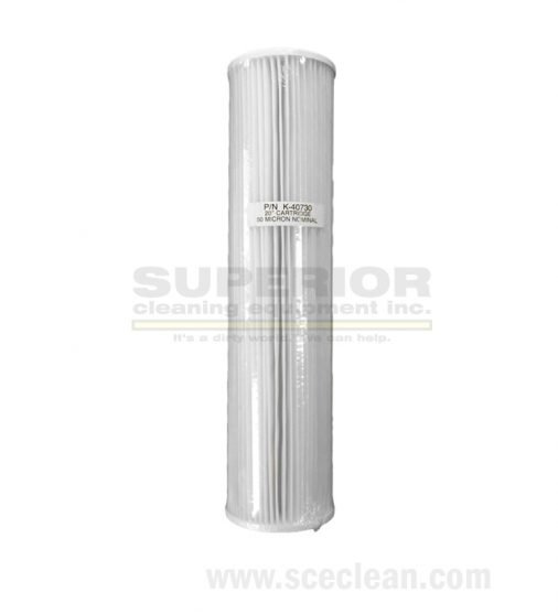 50 Micron Pleated Filter