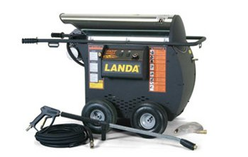 Landa HOT series Hot Water Pressure Washer For Rent