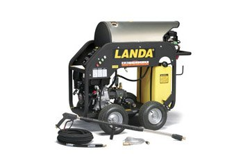 Hot Water Pressure Washer Rental Landa MHC series