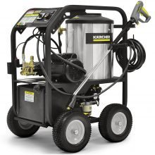 Karcher HDS Electric Cage - Rugged, Hot Water Pressure Washer System