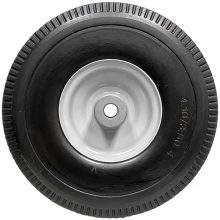 Pressure Washer Tire, Flat Free, No Air, 10 Inch Wheel, 4 Inch Steel Rim, 8.711-898.0, 4-030310, Front