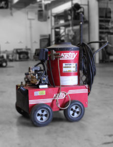 Used HOTSY 560SS Hot Water Pressure Washer For Sale