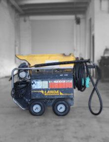 Used Landa HOT3 Pressure Washer For Saale