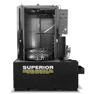 SCE F Series - Front Load, Roll In Door Parts Washer System