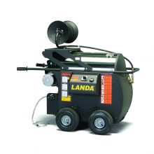Landa HOT4 series, electric powered, diesel heated pressure washer