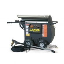 Landa HOT2 Stainless Steel Top - Electric Powered, Diesel/Oil Heated, Portable Pressure Washer