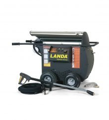 Landa HOT2 Stainless Steel Top - Electric Powered, Diesel/Oil Heated, Portable Pressure Washer