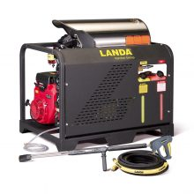Landa PGHW Series - Hot Water, Gasoline powered, Diesel/Oil Heated, Skid pressure washer