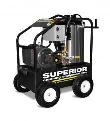 SCE PEH Series - Portable, Hot Water, Electric Powered, Diesel Fired