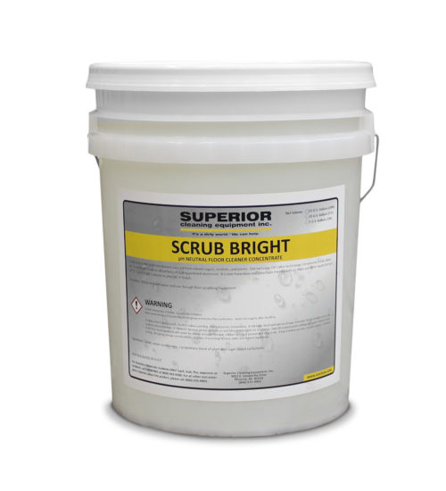 Scrub Bright - pH neutral floor cleaner concentrate