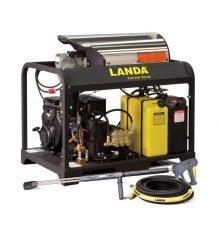 Landa PGDC Series - Hot Water, Skid Mounted, Gas Powered, 12v Diesel Heated Pressure Washer