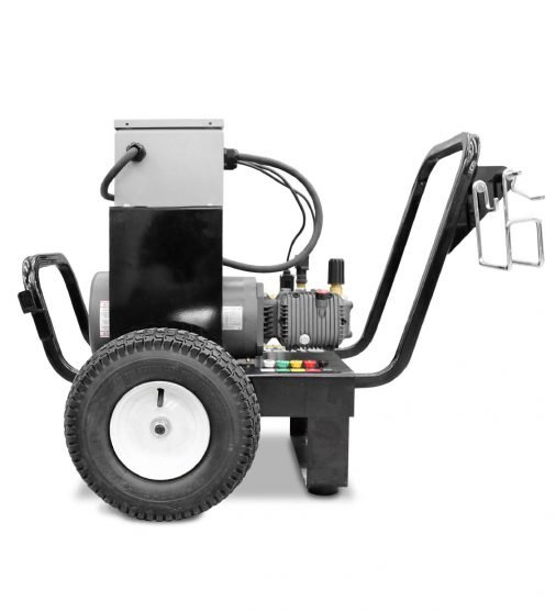 SCE PEC Series - cold water pressure washer - side view