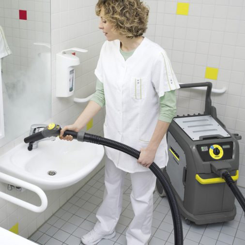Karcher SGV 6/5 Steamer, Cleaning Bathroom