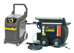 Industrial Steamers from Optima Steamer, Karcher, Landa and Mytee