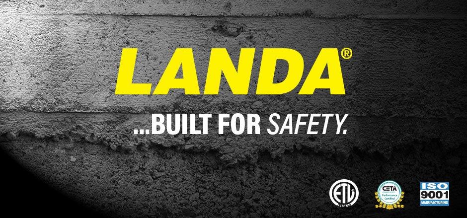 Landa Safety Banner
