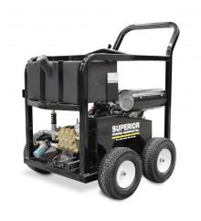 PGC - Portable, Gasoline Powered, Cold Water Power Washer with 7000 PSI