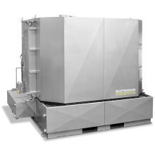 SCE HDS Parts Washer System - Stainless Steel Cabinet