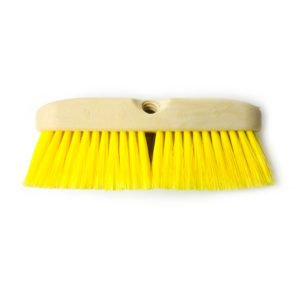 "Easy Reach #206 - 10"" Wash Brush with Soft Yellow Bristles"