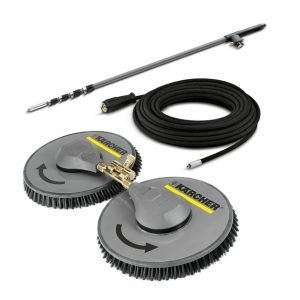 Karcher iSolar 800 - Dual Brush Solar Panel Cleaning System - Includes Brush, Lance, Hose