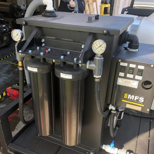SCE MFS, Mobile Filtration System, In Action