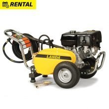 Landa PG Pressure Washer Rental, Gasoline powered, 3500 PSI, Portable