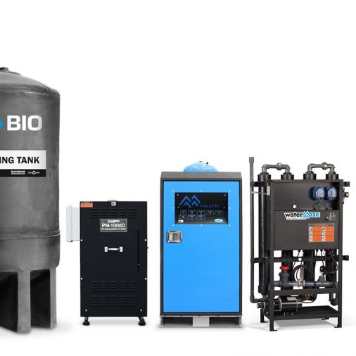 SCE CWWT, Complete Wash Water Recycling System for Industrial Sites
