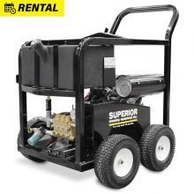 Portable Gasoline Cold Water Pressure Washer, Rental, 7000 PSI