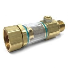 "General Pump In-Line ClearView Filter - 1/2"" NPT x 3/4"" GH with 1/4"" Bypass, 8.710-146.0, 347092"