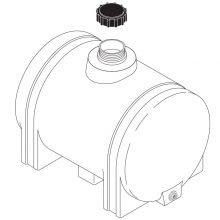 Landa ATB Skid, Replacement Water Tank, 65 Gallon Capacity, 8.753-020.0